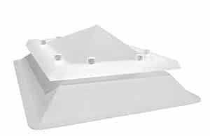 Claraboya fija piramidal Sunlight de Maydisa