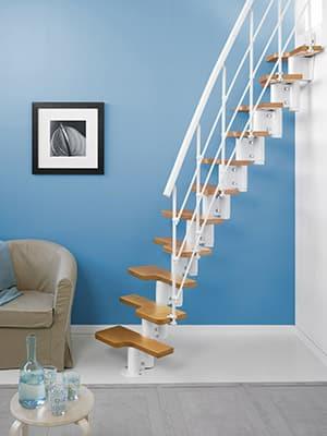 Escalera Magia 30 Xtra para espacios reducidos