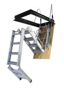 Escalera escamoteable por tramos PK4