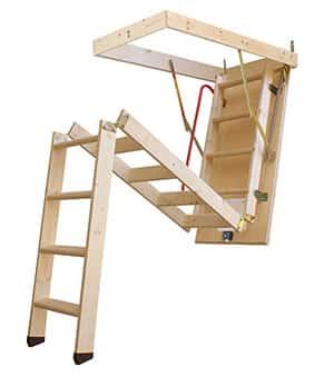 Escalera escamoteable de tramos LC3 ISO