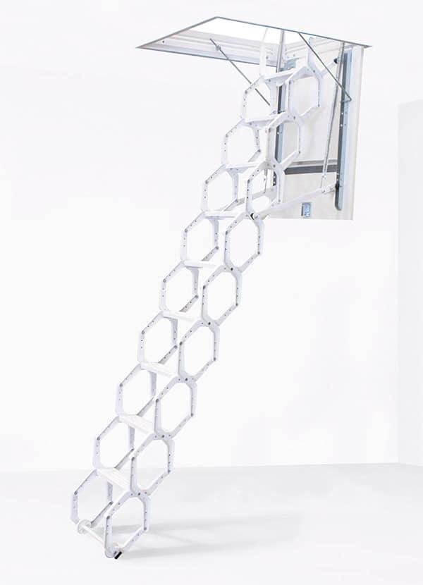 Escalera de tijera LX lacada metálica