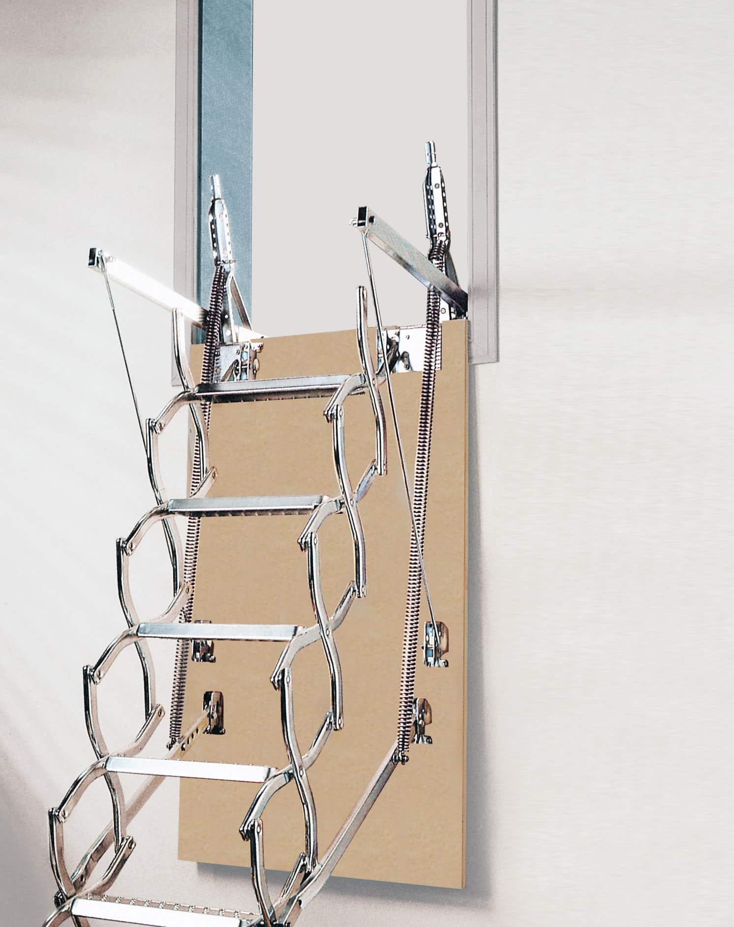 Escalera de tijera ZX de pared