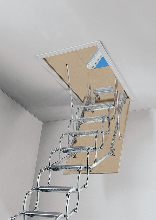 Escalera de tijera ZX de terraza