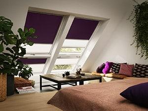 Cortinas oscurecimiento duo para ventanas Velux