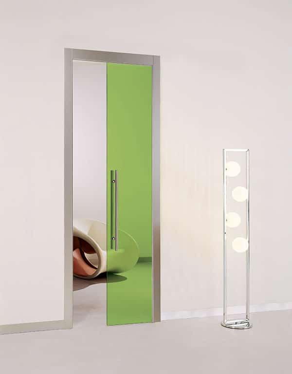 Puerta Casali Orchidea Vetro Lime