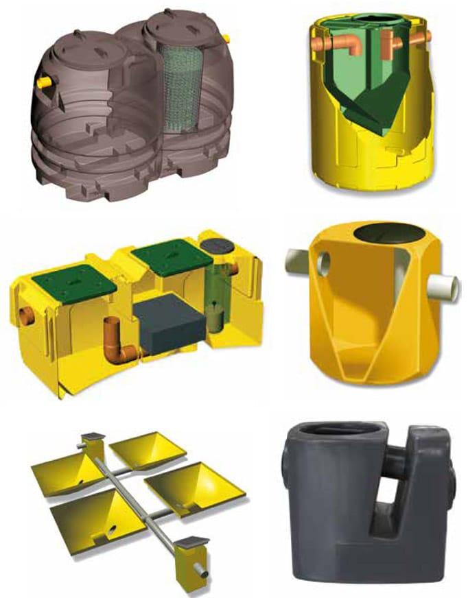 Tipos de productos de depuración de Maydisa
